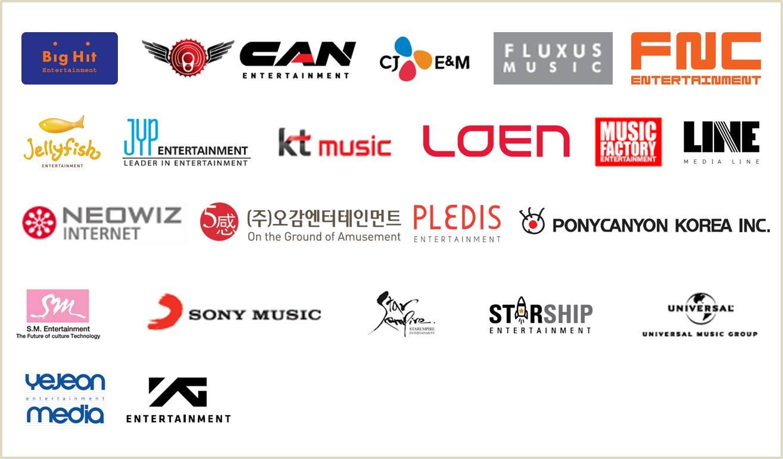 한국음악콘텐츠산업협회 SM, YG, JYP, FNC 등 대형기획사 14곳 대거 가입