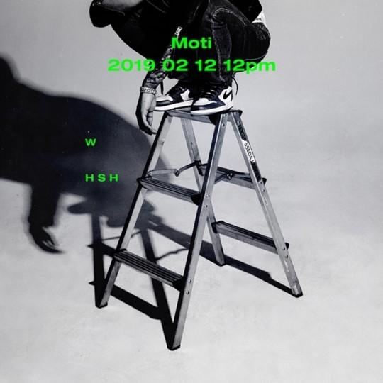 래퍼 모티(Moti), 첫 번째 미니앨범 'WHSH' 2월 12일 발매