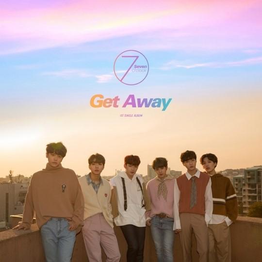 세븐어클락, 첫 싱글 'Get Away' 재킷 이미지 공개…19일 활동 시작