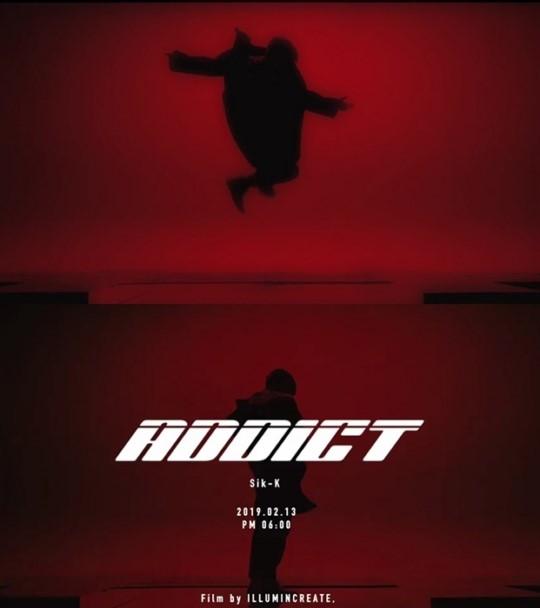 '섹시男의 정석' 식케이(Sik-K), 정규 1집 선공개 싱글 'ADDICT' 뮤직비디...
