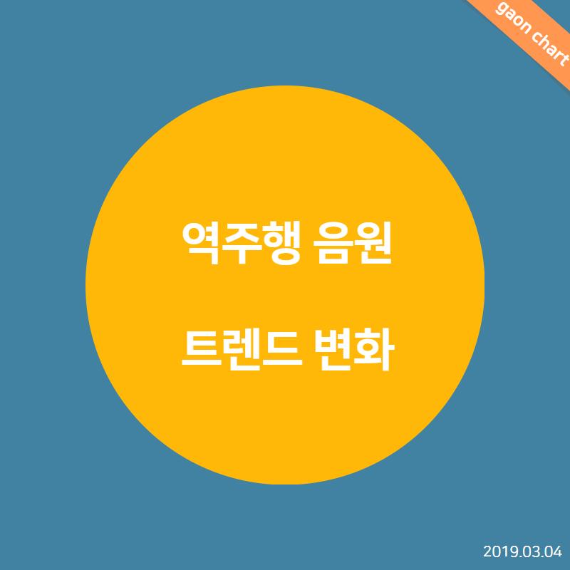 역주행 음원 트렌드 변화