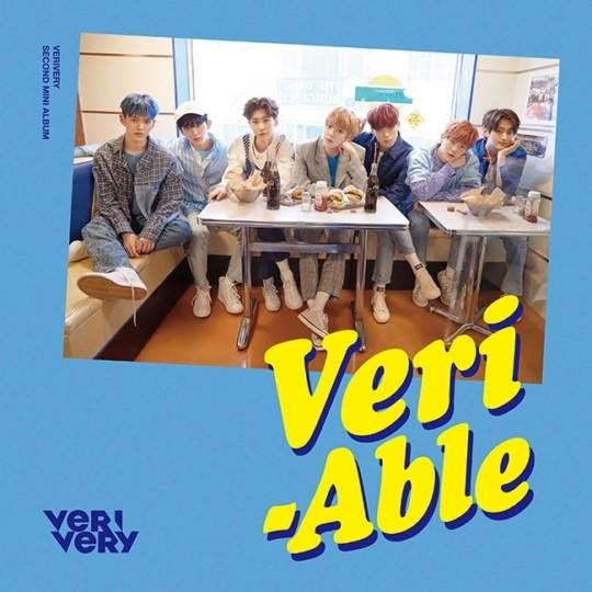 베리베리, 두 번째 미니 앨범 'VERI-ABLE (베리어블)' 24일 발매