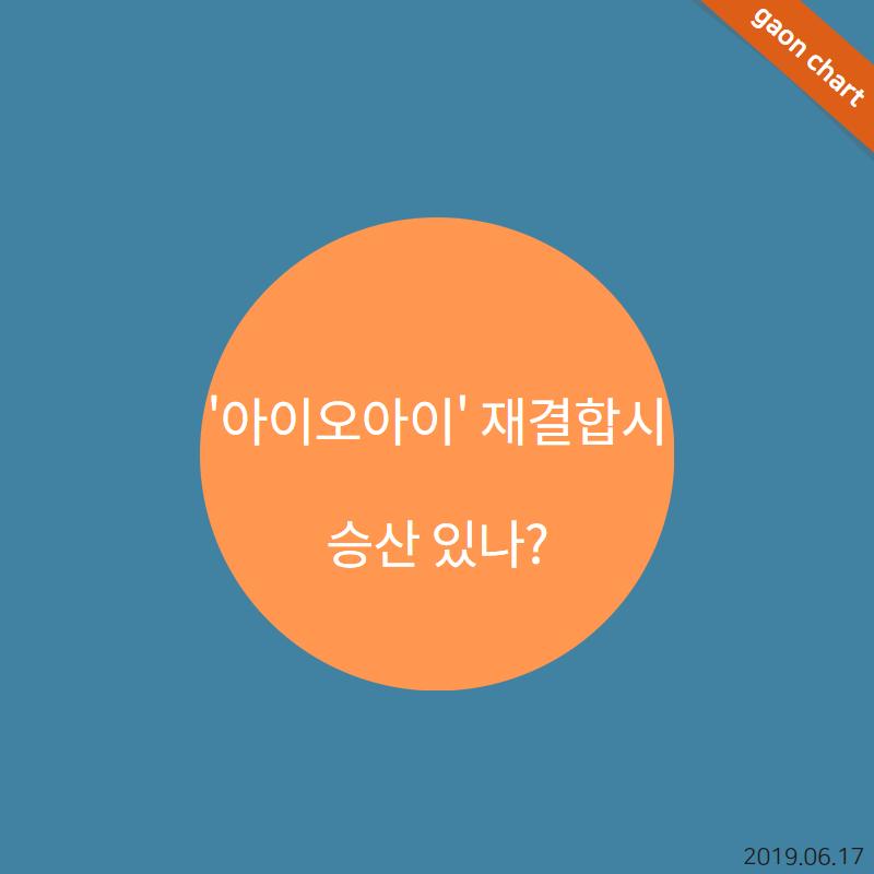 ′아이오아이′ 재결합시 승산 있나?