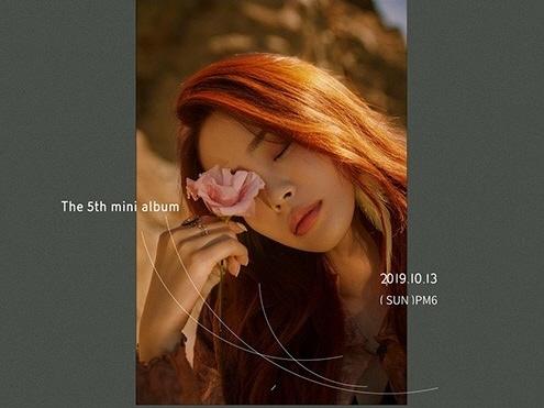 헤이즈, 미니 5집 '만추' 티저 이미지 공개…타이틀곡은 '떨어지는 낙엽까지도'