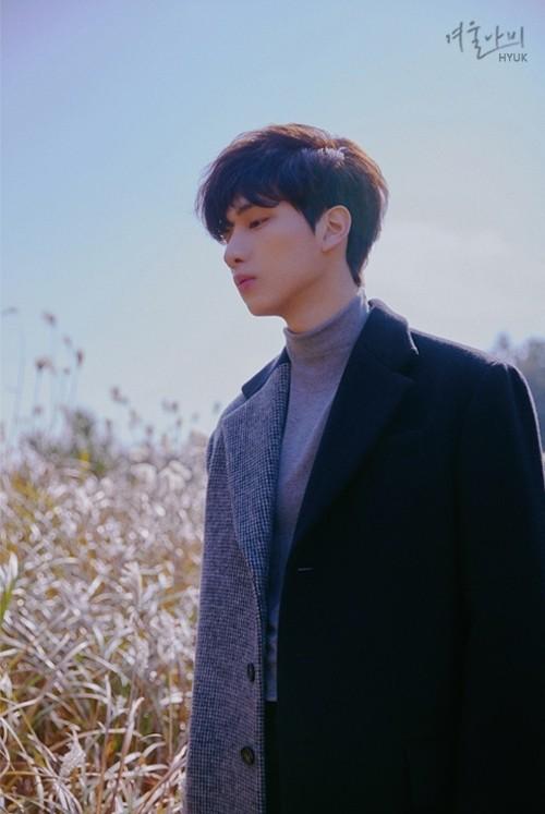 빅스 혁, 1st 미니 앨범 '겨울나비' 오피셜 포토 공개