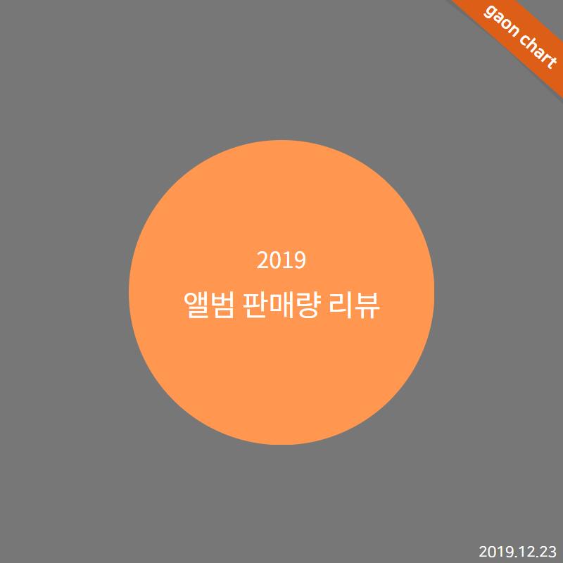 2019 앨범 판매량 리뷰