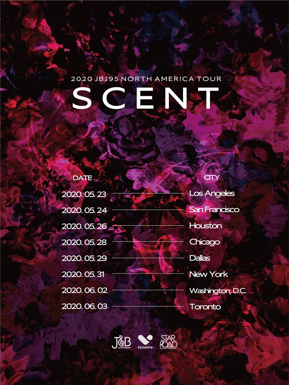 '글로벌 K-POP 듀오' JBJ95, 첫 단독 북미 투어 'SCENT' 개최…5월부터...