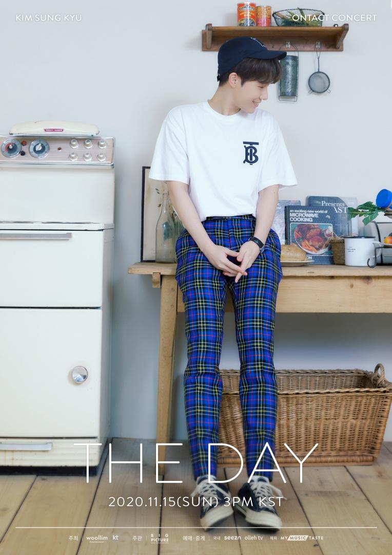 """인피니트 김성규, 온라인 콘서트 'THE DAY' 2차 포스터 공개… """"감성 보컬리스트..."""