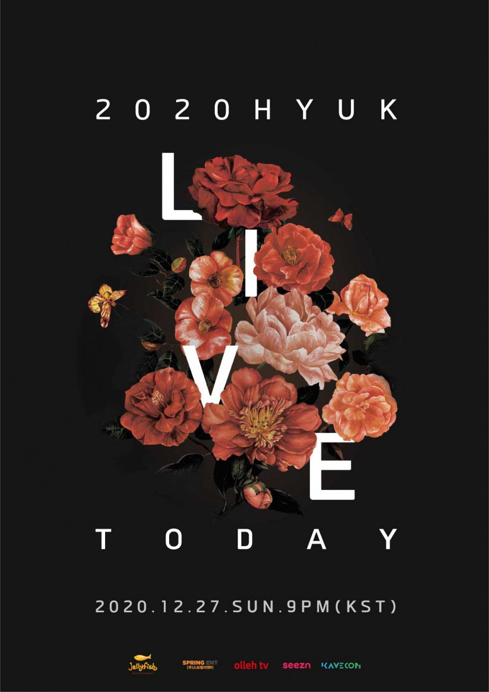 빅스 혁! 오는 27일 온라인 콘서트 '2020 HYUK LIVE TODAY' 개최!