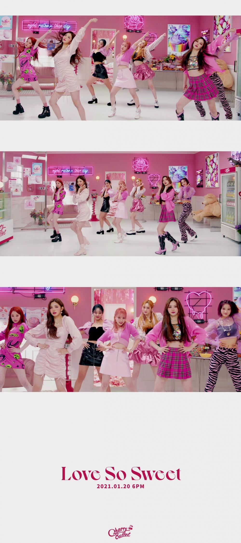 체리블렛, 신곡 'Love So Sweet' MV 티저 공개.. 20일 오후 6시 발매...