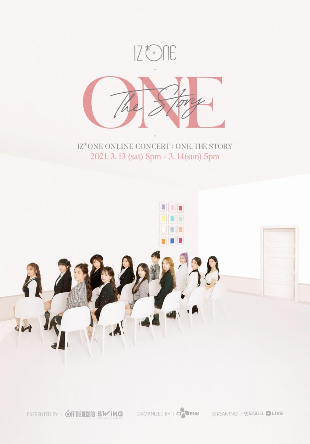 아이즈원, 온라인 콘서트 'ONE, THE STORY' 티켓 오픈…미발표 신곡 무대 최...
