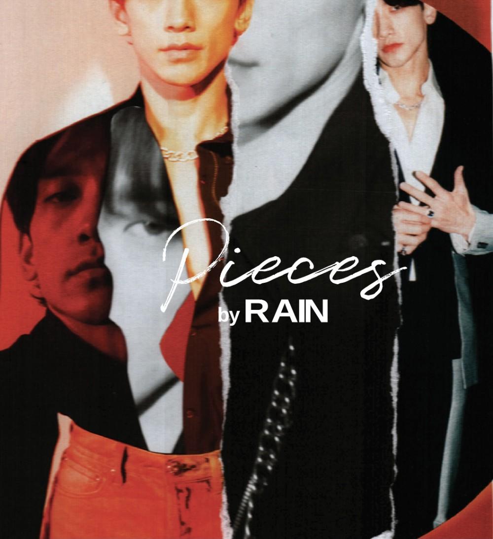 '컴백 D-DAY' 비(RAIN)! 오늘(3일) 미니앨범 'PIECES by RAIN'...