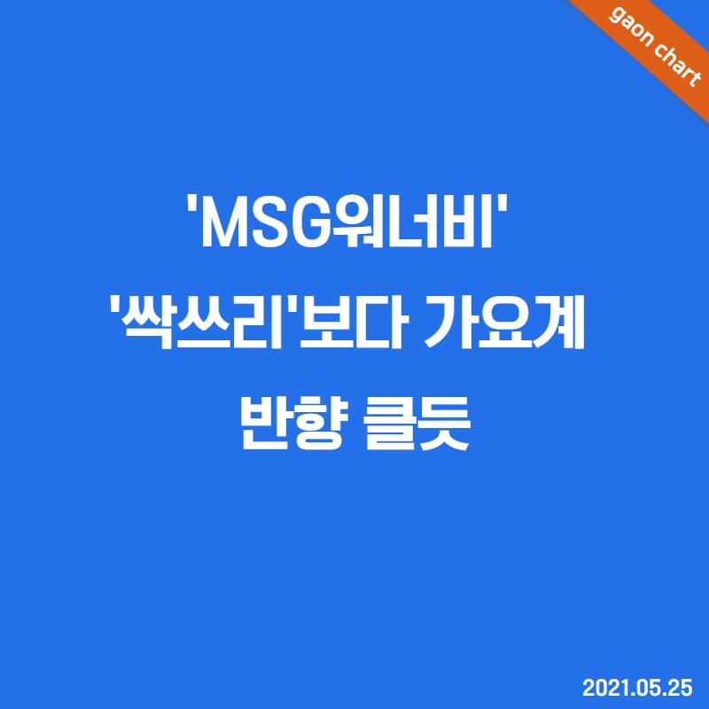 'MSG워너비' '싹쓰리'보다 가요계 반향 클듯