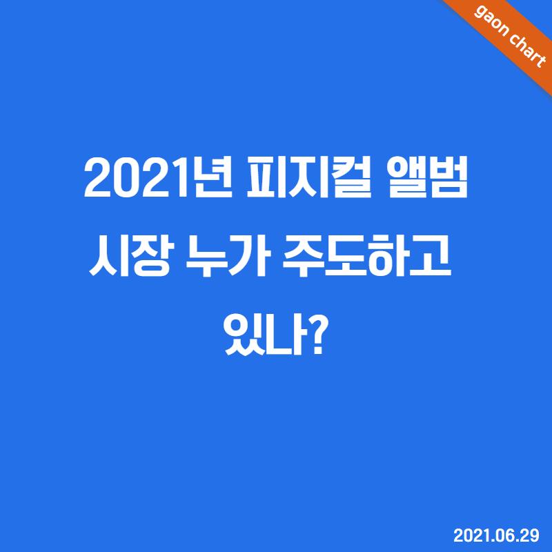 2021년 피지컬 앨범 시장 누가 주도하고 있나?
